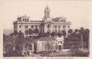 Senegal Dakar Le Palais du Gouverneur General