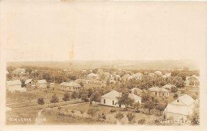 G41/ Kingsley Iowa RPPC Postcard 1915 Birdseye View Homes Farms