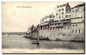 Old Postcard Dinard Bay Prioress