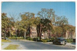 Little Falls, N.Y., Benton Hall and Little Falls Central High School