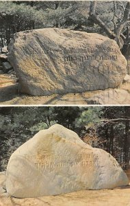 Judaic Post Card English and Hebrew Inscriptions Concord, New Hampshire, USA ...