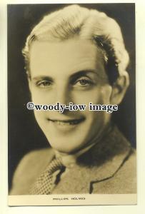 b2442 - Film Actor - Phillips Holmes - postcard Film Weekly