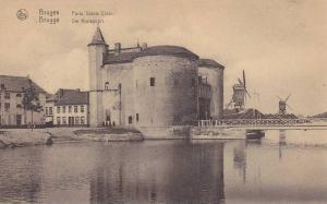 Windmills, Porte Sainte Croix, Bruges (West Flanders), Belgium, 1900-1910s
