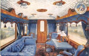 Queen Victoria's Day Saloon, Interior, London, Railway Co.