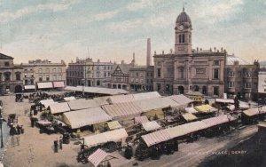 DERBY, England, UK, 1900-10s ; St. Mary's Catholic ChurchMarket Place