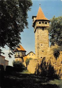 Kirchenburg St Michael Ostheim von der Rhoen Waagglockenturm
