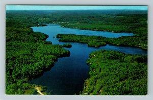 Ontario- Canada, Algonquin Provincial Park, Lake St Peter, Chrome Postcard
