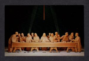NY New York World's Fair 64-65 Last Supper Religious Postcard NYC Orthodox City