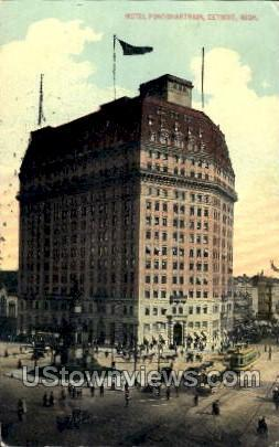 Hotel Pontchartrain Detroit MI 1914