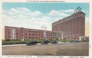 Minnesota Minneapolis The Sheridan Hotel