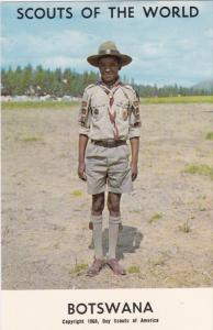 Boy Scouts of the World, BOSTWANA, 1960´s