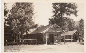 RP: CABIN CITY , Montana , 1920-30s ; Trout ValleyLodge