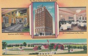 FORT SMITH , Arkansas , 1930-40s ; Ward Hotel