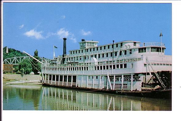 Gordon C Greene Mississippi River Steamboat, Lavee Hannibal, Missouri, John W...