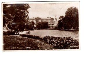Real Photo, Buckingham Palace, London, England, Used to Hospital in Germany 1949