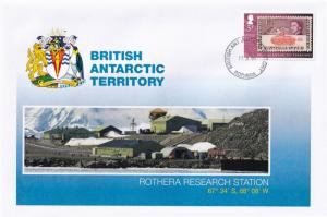 Rothera Research Station British Antarctic Territory Stamp Rare FDC
