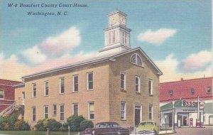 North Carolina Washington Beaufort County Court House Albertype