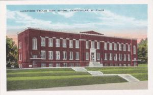 Exterior View, Alexander Graham High School, Fayetteville, North Carolina, 00...