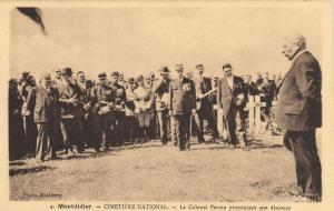 CPA MONTDIDIER - Cimetiere National (121330)