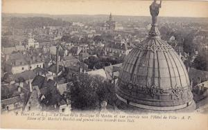 Dome Of St. Martin's Basilisk And General View Towards Town Hall, TOURS (Indr...