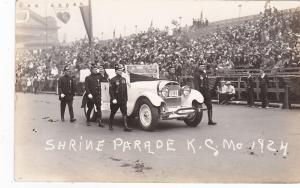 RP; Shrine Parade, KANSAS CITY , Missouri, 1924