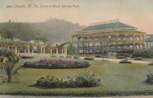 CHESTER , West Virginia, 1900-10s ; Scenic Railway , Rock Springs Park