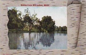 Scene From Six Lakes Michigan 1910