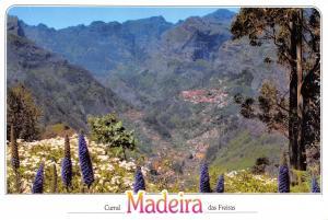 Postcard MADEIRA, Curral das Freiras, Vista da Boca dos Namorados #897