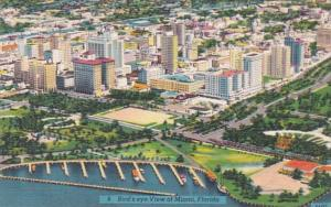 Florida Miami Birds Eye View