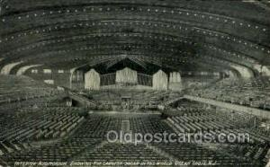 Largest Organ, Ocean Groves, New Jersey, USA Opera Postcard Postcards  Larges...