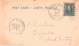 Mexican Express Wagons Mexico Tarjeta Postal 1907