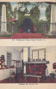 Virginia Mount Vernon Washington Tomb Kitchen
