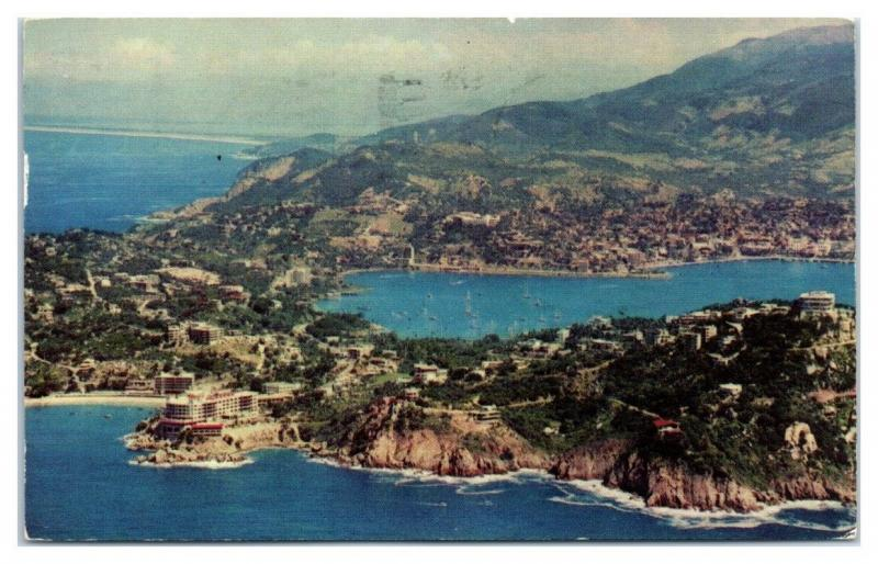 1961 American Airlines Acapulco, Mexico Postcard