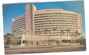 Multi-Million Dollar Luxury Hostelry, The Fontainebleau, Miami Beach, Florida...