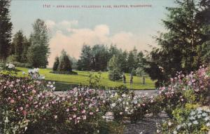 SEATTLE, Washington, PU-1909; Rose Garden, Volunteer Park