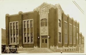 canada, PENTICTON, B.C., Post Office (1940s) Stocks RPPC