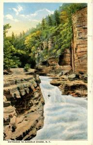 NY - Ausable Chasm. Entrance