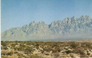 Las Cruces NM Organ Mountains White Sands