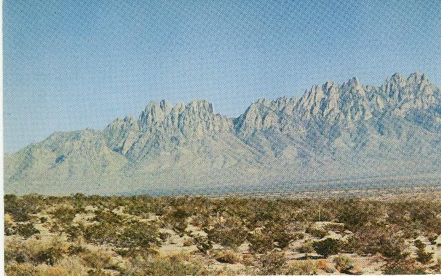 Las Cruces NM Organ Mountains White Sands