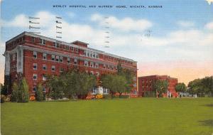 Welsley Hospital and Nurses' Home, Wichita, KS, USA Welsley  and Nurses&...