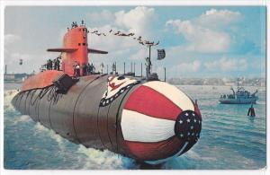 Unposted USS George Washington 1st Ballistic Missile Sub Initial Launch US Navy