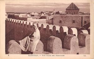 Tunisia Kairouan Vue Prise des Remparts