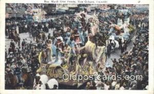 Mardi Gras, New Orleans, La, Usa Parade, Parades, Postcard Postcards  Mardi G...