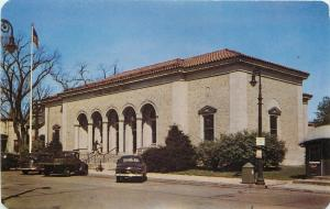 Somerville New Jersey~Post Office~1940-50s Cars~Truck~Postcard