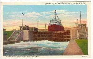 Steamer Farrell, Flagship Of The Pittsburgh S. S. Co., Locking Down In The Sa...