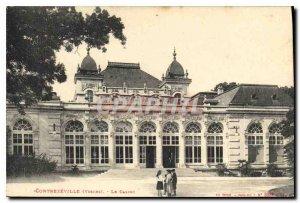 Old Postcard Contrexeville (Vosques) Casino