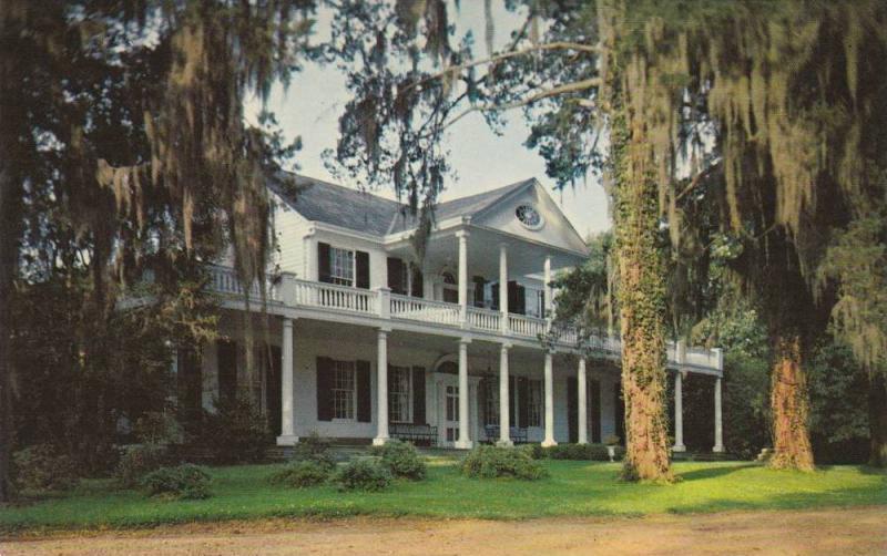 Linden Plantation Home, Residence of Senator Thomas Reed, Natchez, Mississipp...