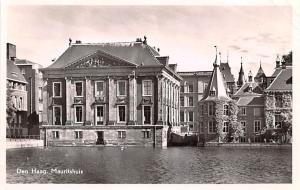 Den Haag Holland Mauritschuis Den Haag Mauritschuis