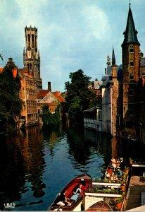 Belgium Brugge Quai du Rosaire