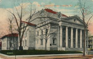 First Christian Church - Louisville KY, Kentucky - DB